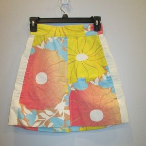 Tracy Feith Target Juniors Skirt Flora Size 1